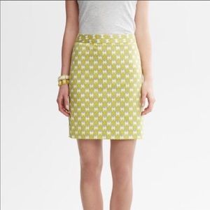 Banana Republic Milly Collection mini skirt